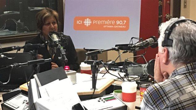 Nira Dookeran, candidate Parti Vert et Philippe Marcoux
