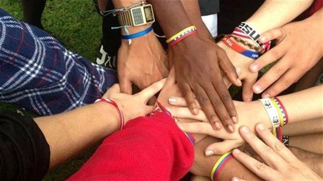 La Francophonie regroupe des gens de partout dans le monde.