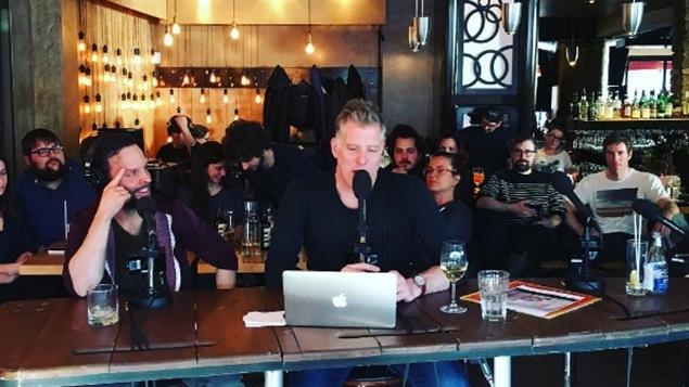 Fred Savard en compagnie de Marc Beaupré