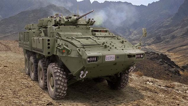The $15-billion deal to supply LAV 6.0 to Saudi Arabia was signed by the Conservative government of Stephen Harper and approved by the Liberal government of Prime Minister Justin Trudeau