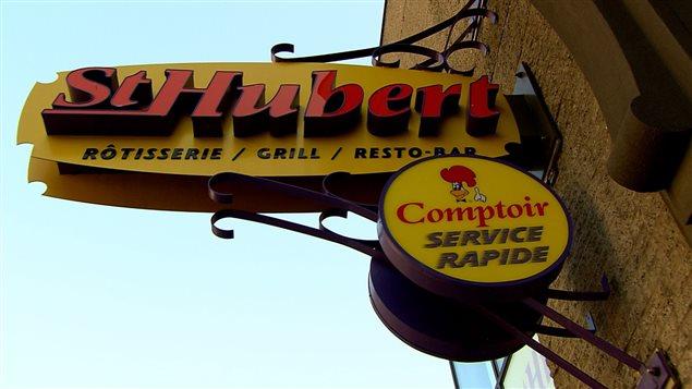 St-Hubert possède des restaurants et des comptoirs de services rapides.Photo Credit: ICI Radio-Canada