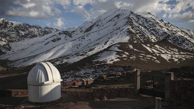 Modern telescopes like this one at Oukaimeden Observatory in Morocco are much more advanced and clearly show Pluto is not as big as was thought and it is not alone.