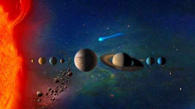 Artists' renditions of the planets in our solar system no longer include Pluto.