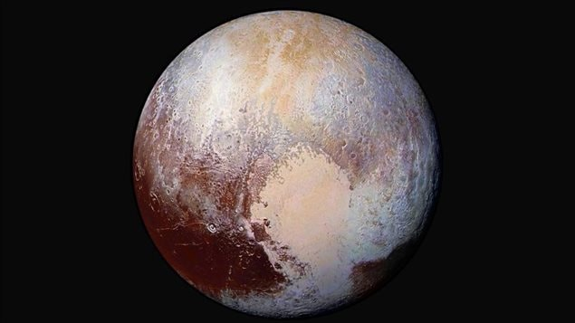 In 2006, Pluto was declared not a real planet but a dwarf planet.