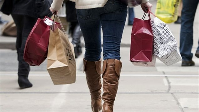 Purchasing gifts will account for much of Canadians' spending during the coming holidays.