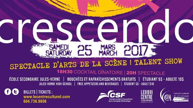 Le spectacle Crescendo