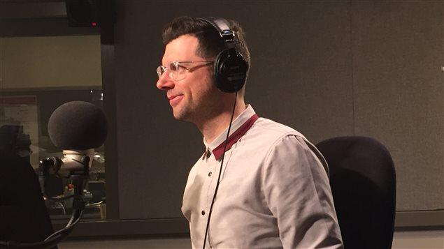 Le journaliste Frédéric Choinière