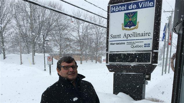 Bernard Ouellet, maire de Saint-Apollinaire.