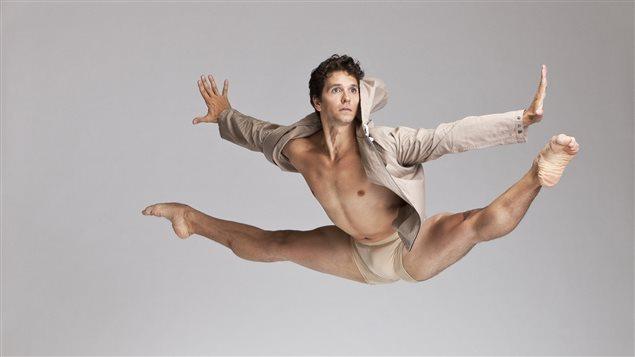 Le danseur Guillaume Côté