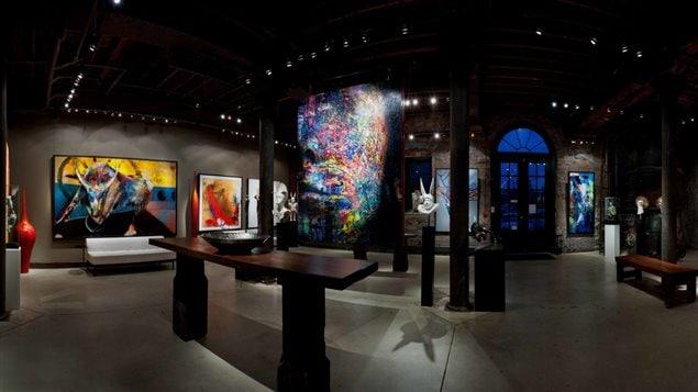 La galerie d'art Thompson Landry à Toronto