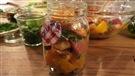 Une salade de betteraves en pot facile à faire