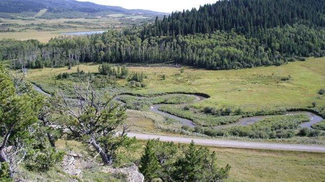 Le ranch Oxley, dans les contreforts du sud de l'Alberta.