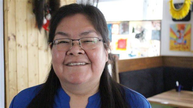 Yvette Mollen, enseignante en langue innue