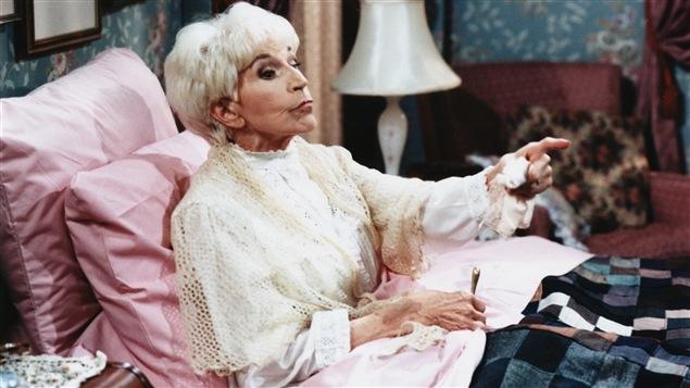 Janine Sutto personnifie Margot dans « Maman chérie » en 1997. Photo : Radio-Canada/Jean Bernier