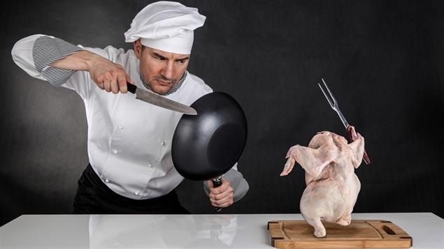 Pour certaines personnes, cuisiner est un combat, rappelle Lesley Chesterman.