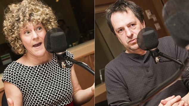 Diane Bérard et Éric Pineault