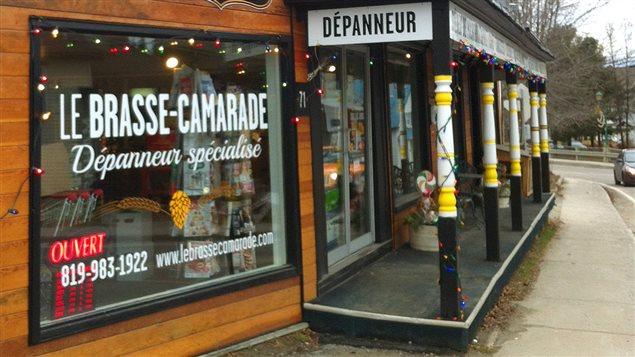 Le Brasse-Camarade, détaillant spécialisé en bières de microbrasseries, à St-André-Avellin.