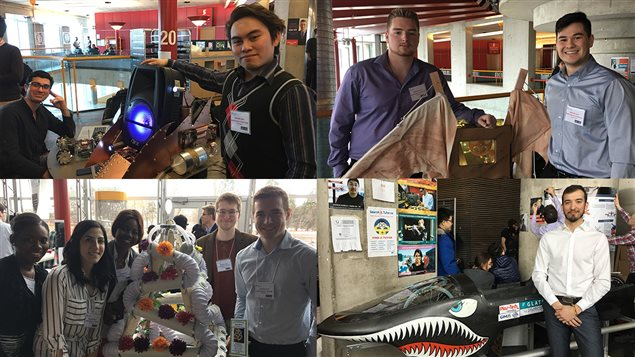 De nombreux étudiants de l'Université d'Ottawa ont présenté leur créations lors de la Journée du design en génie.