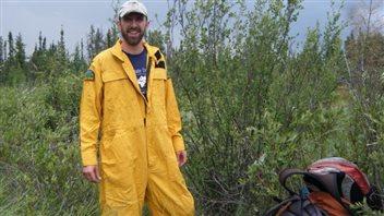 Le chercheur scientifique au Centre de foresterie du Nord, Marc-André Parisien.