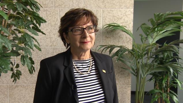 La présidente de l'ACF et responsable du dossier de l'immigration, Françoise Sigur-Cloutier