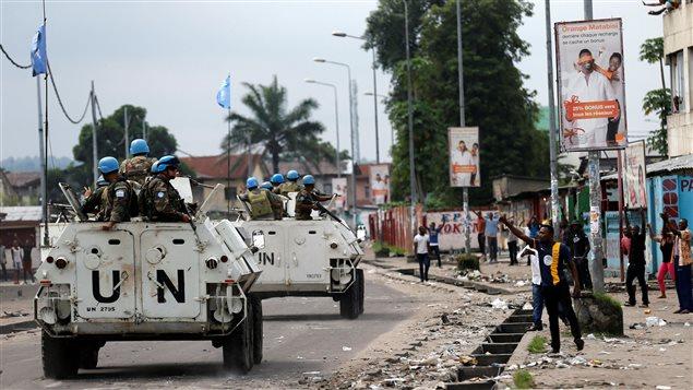 La force de maintien de la paix en République démocratique du Congo est la plus importante et la plus coûteuse de l'ONU.