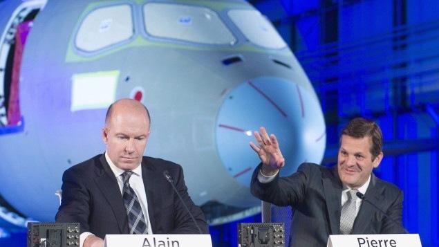 De hautes rémunérations des hauts dirigeants de Bombardier