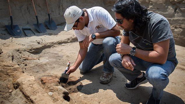Orlando Arriagada siguiendo las huellas arqueológicas del ADN del Ceviche.
