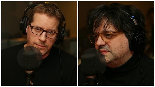 L'acteur et scénariste Gabriel Sabourin et le réalisateur Alexis Durand-Brault