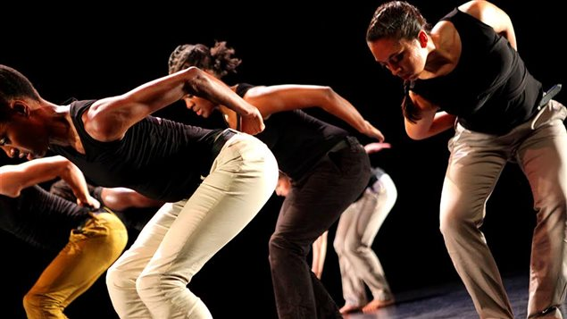 La compagnie de danse contemporaine africaine basée à Montréal NYATA NYATA.