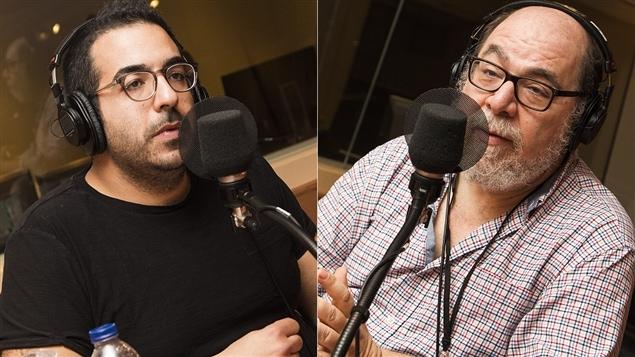 Neev Benshimon et Daniel Weinstock
