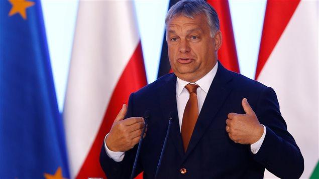 Le premier ministre hongrois, Viktor Orban