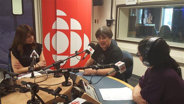 Yannick Rieu en entrevue à L'heure de pointe.