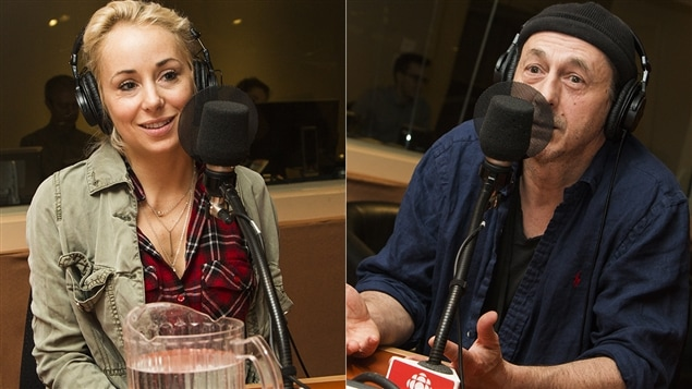 Mariloup Wolfe et Luc Picard