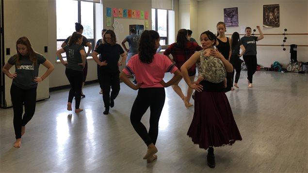 La troisième édition du Festival de danse francophone en milieu scolaire.