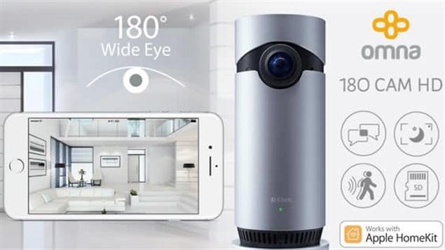 La caméra 180 degrés Omna de D-Link.