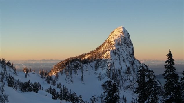 Five hikers are dead after a cornice collapsed on the peak of B.C.'s Mount Harvey, sending them tumbling down the mountain's north face. (Steven Song)