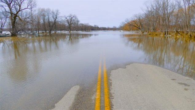Inundaciones de primavera en Manitoba