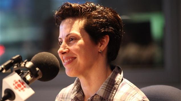 Participante à l'émission La Grande Traversée, Christine Savoie.