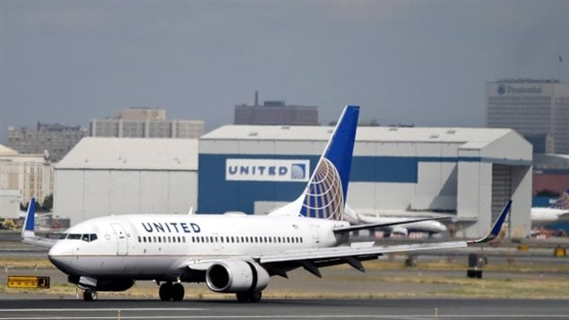 Un avion de la compagnie United Airlines