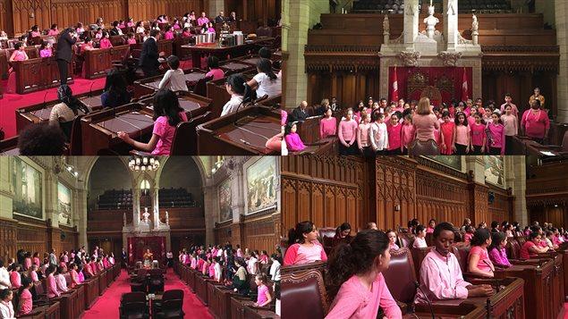 Journée inclusion au Sénat