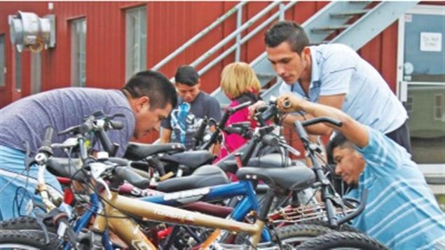 La bicicleta ha dado visibilidad a los trabajadores temporales.