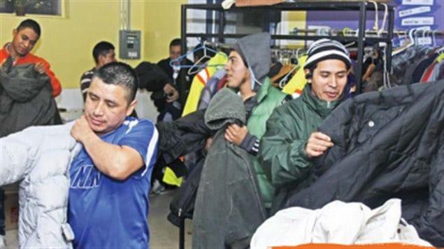 La donación de ropa es sólo una de las acciones que lleva a cabo la iglesia de Saint Alban's.