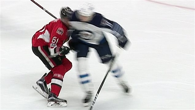 The NHL has suspended Winnipeg Jets defenceman Jacob Trouba for two games for an illegal check to the head of Ottawa Senators forward Mark Stone.
