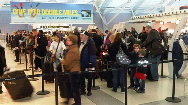 As lines for flights grow, so does consternation over airline companies' practice of overbooking and bumping passengers with tickets.