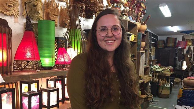 Jenna Riznek d'Osoyoos s'est sentie trahie par les Libéraux