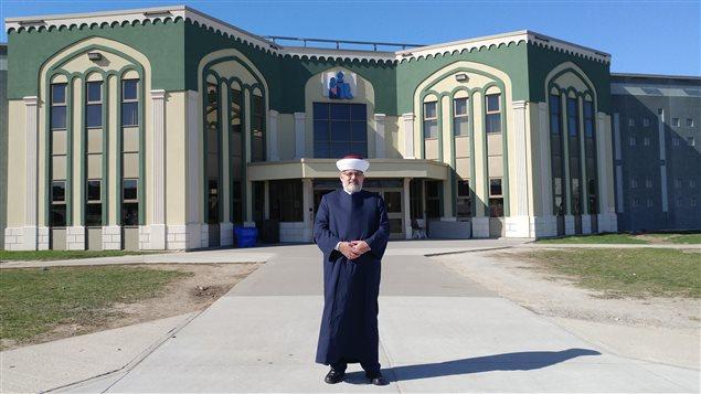 Hassan Guillet, ingeniero, abogado e imam en Saint Jean Sur Richelieu.