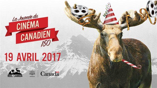 L'affiche promotionelle de la Journée du cinéma canadien 150.