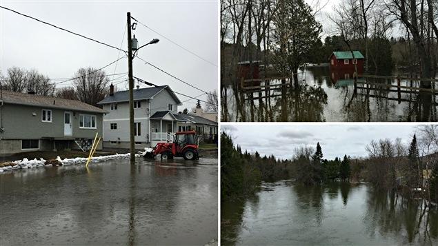 Inondations dans la Petite-Nation.