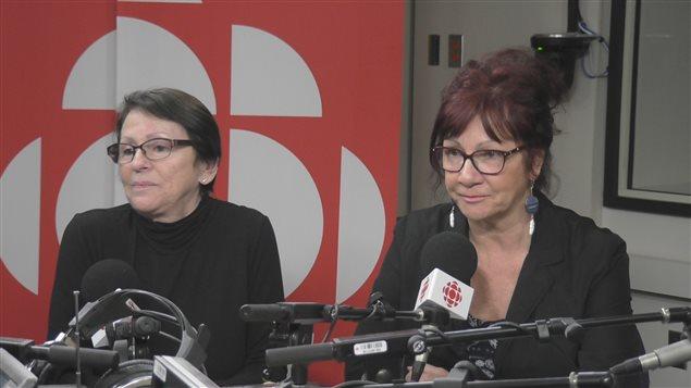 Pierrette Tremblay et Marlène Bilodeau