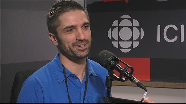 Cédric Delavaud, coordonnateur du Camp Voyageur
